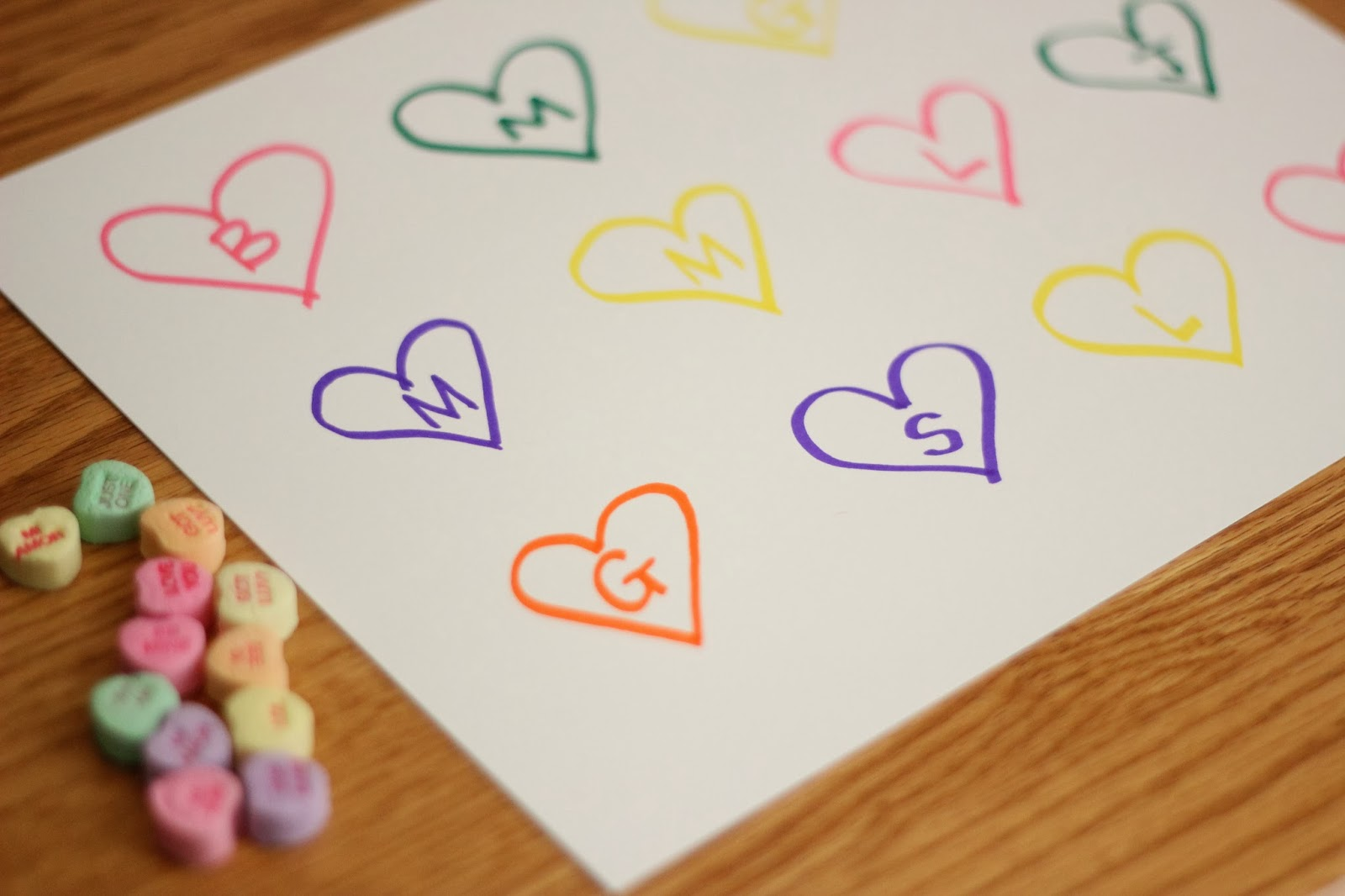 Toddler Approved Candy Heart Patterns