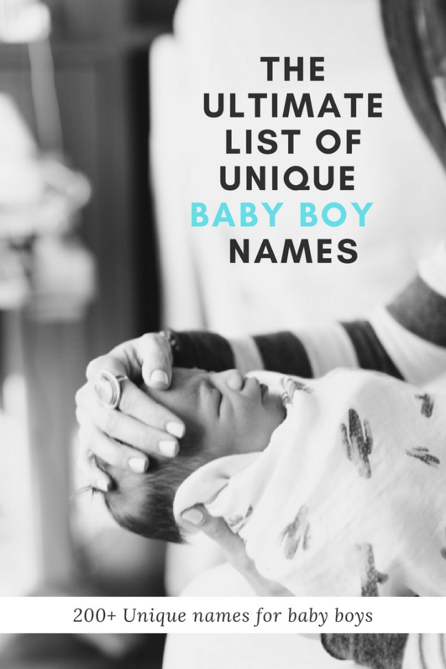 200 Unique Baby Boy Names One Little Momma