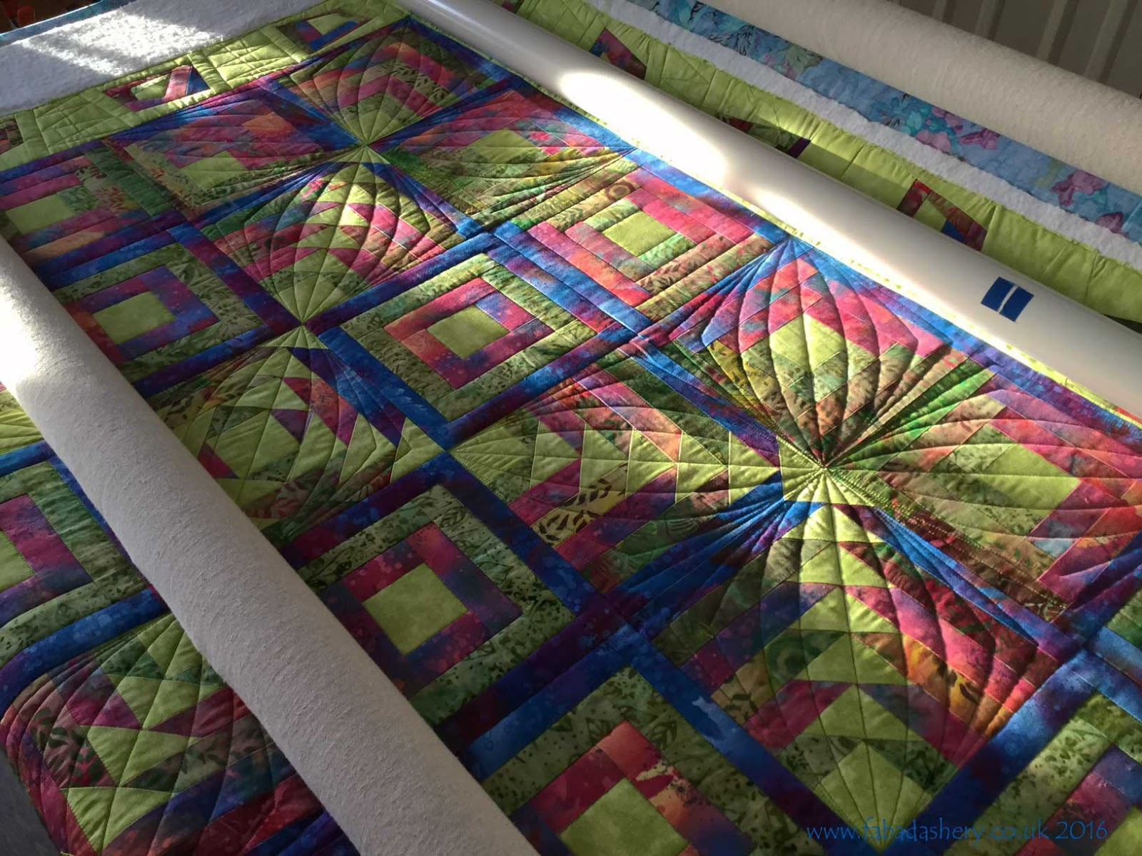 Modern Hand Quilting Patterns : Fabadashery Longarm Quilting: Custom Quilting - combining digital patterns with hand guided ...