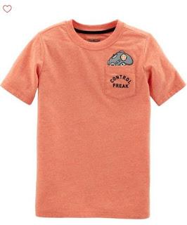 Áo thun bé trai, Oshkosh, họa tiết dễ thương, size từ 4-10T.