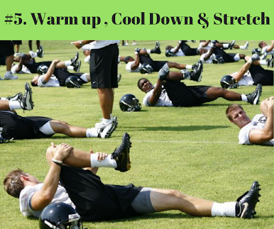2017-10 X 10 - Day # Warm Up,Stretch & Cool Down