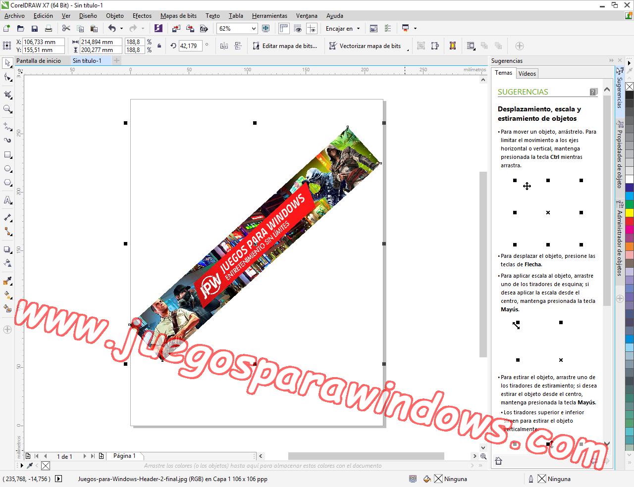 CorelDRAW Graphics Suite X7.3 ESPAÑOL Software De Diseño Gráfico Completo (XFORCE) 11