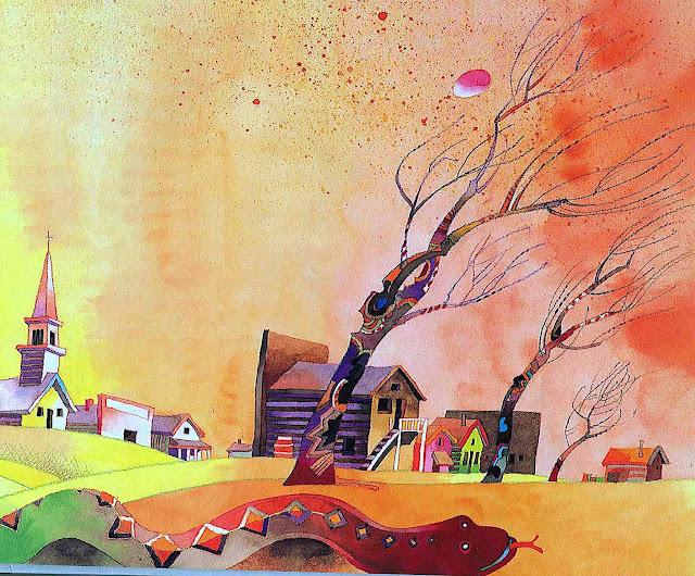 a Don Weller children's book illustration