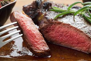tingkat kematangan steak sapi
