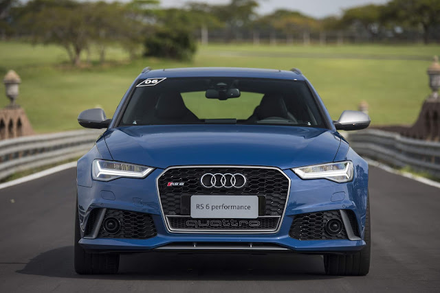 Audi RS6 Avant 2017 Performance