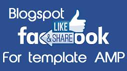 Tích hợp nút thích-like facebook cho template blogspot AMP