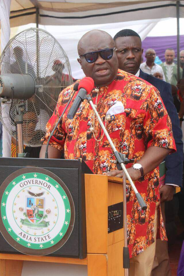 There's no godfatherism in Abia, my predecessors know where to draw the line, says @GovernorIkpeazu