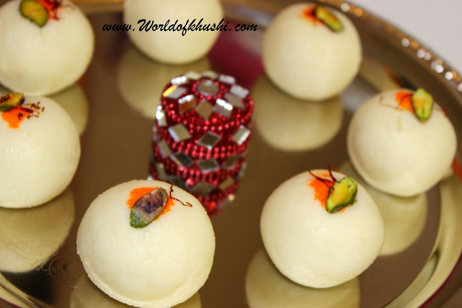 Khushi's World Malai Ladoo