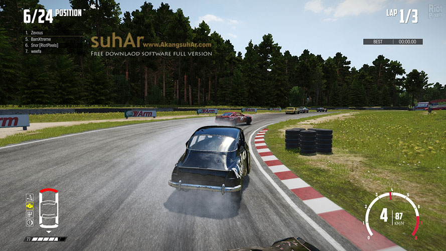 Gratis Download Game PC Wreckfest Full Crack Terbaru
