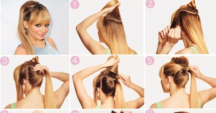 Top 5 Fashionable Ponytail Tutorials Hairstyles Trending