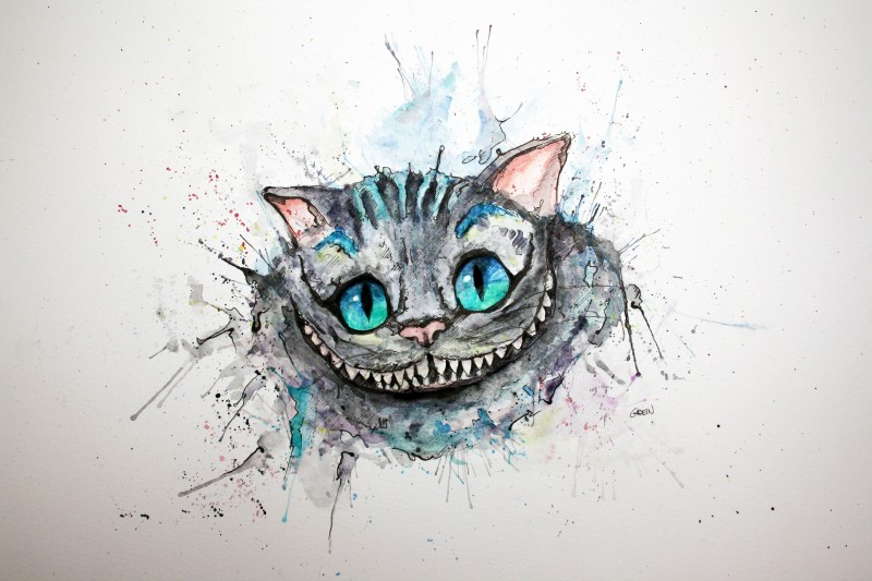 10-Cheshire-Cat-Philipp-Grein-Animal-Paintings-in-Splashes-of-Color-www-designstack-co