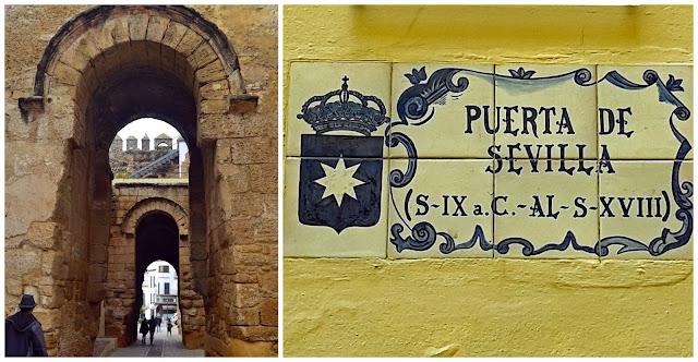 Arcos de la Puerta de Sevilla en Carmona