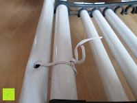 festgebunden: Stabiler Kistenständer Kastenregal Falschenregal Kastenständer (3 Kasten)