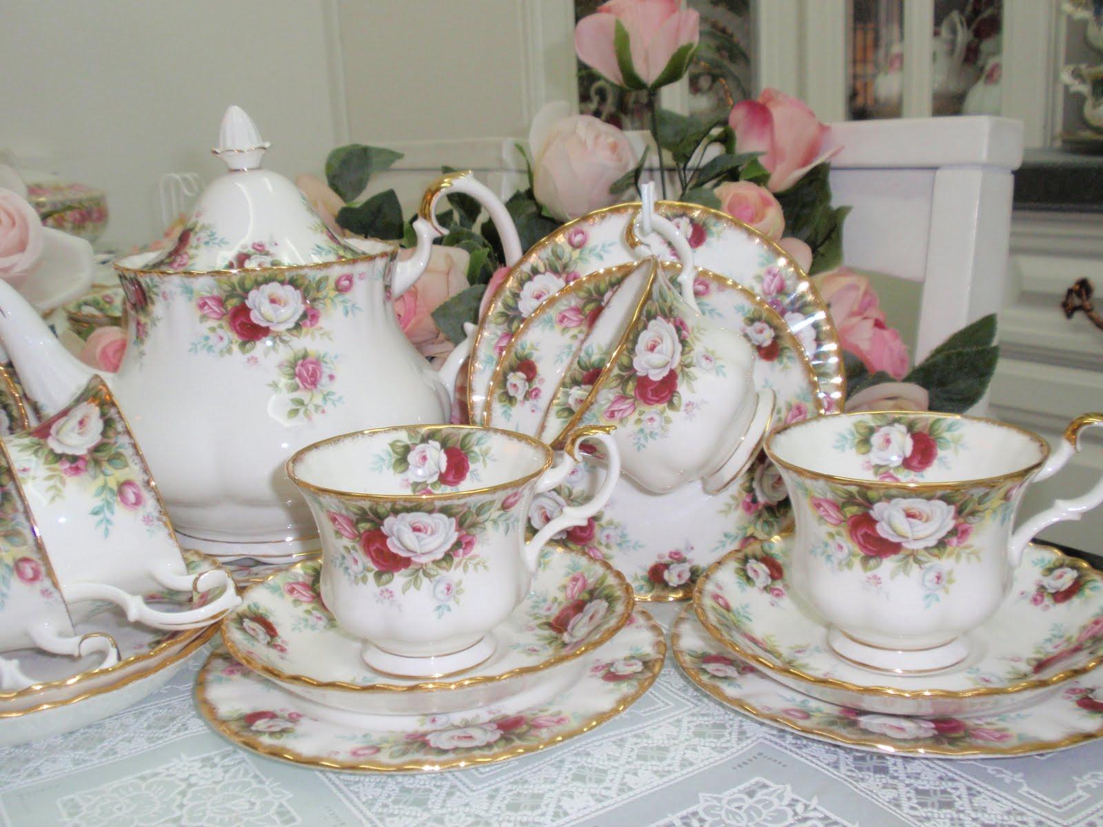 Lovely Treasures From English Garden Royal Albert Celebration