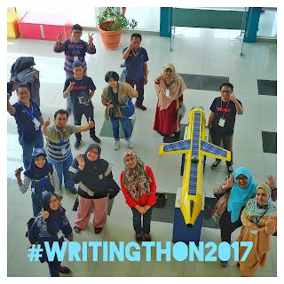 #Writingthon: Penulis, Peneliti, dan Cerita Lainnya.
