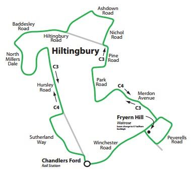 Southampton Bus Update: Hiltingbury hooked up / Secret