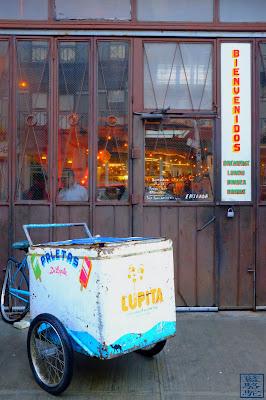 Le Chameau Bleu - Blog Voyage New York City - Tacombi - Devanture Resto mexicain à New York USA