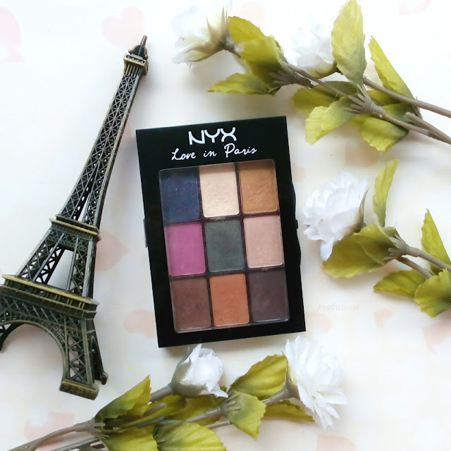 NYX Love In Paris Eye Shadow Palette Mon Cherie