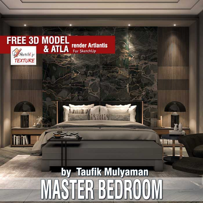 Sketchup texture sketchup model bedroom for Free room design website