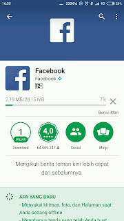 cara daftar facebook