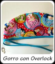 Gorro con Overlock