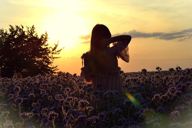 376. Maxi dress. My sunset wonderland. ♥