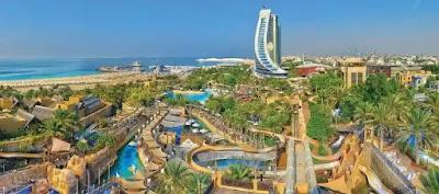 مدينة وايلد وادي المائية في دبي  wild wadi water park dubai