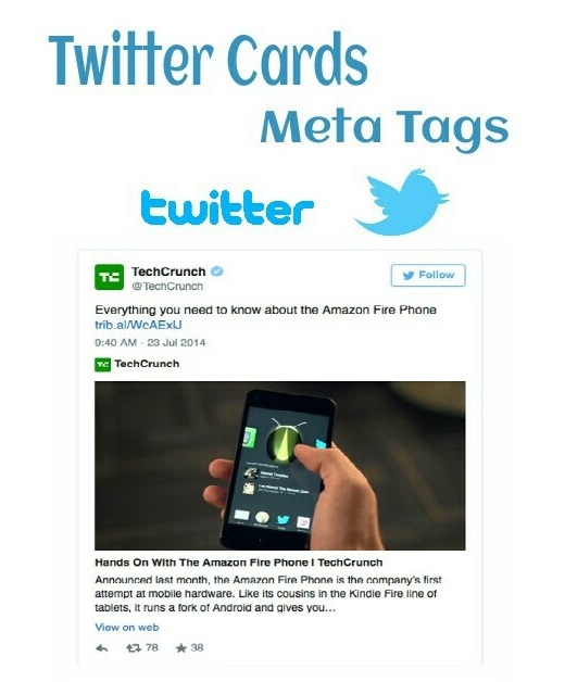 how to add twitter cards to blogger