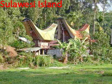 Sulawesi Island in Indonesia