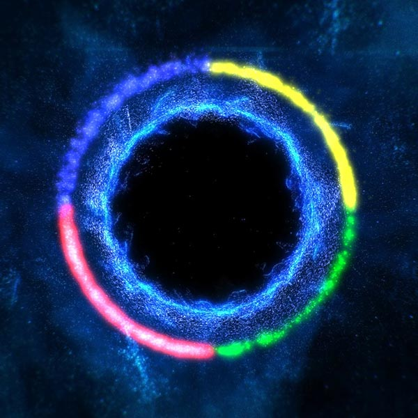 Audio Responsive Black Hole Wallpaper Engine