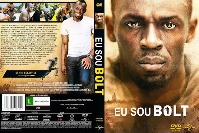 Capa DVD Eu Sou Bolt