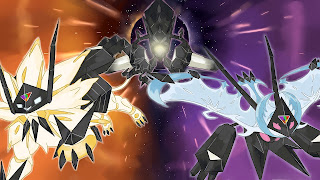 Pokemon Ultra Sun and Moon PS Vita Wallpaper