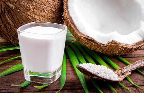 Hindistan Cevizi Sütü - Yoğurt Saç Maskesi
