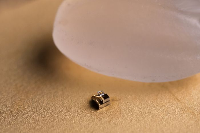 The World's Smallest Computer Is Smaller Than A Grain Of Rice
