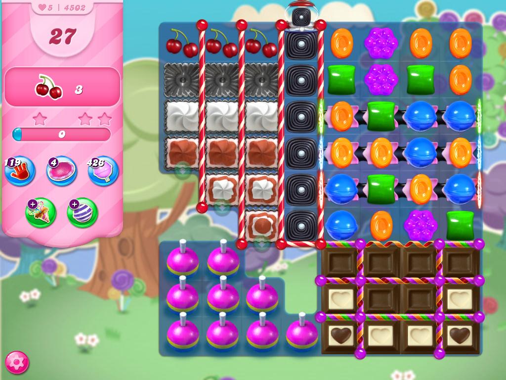 Candy Crush Saga level 4520