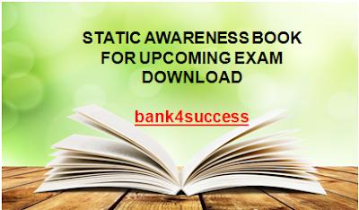Static Awareness Capsule PDF Free Download