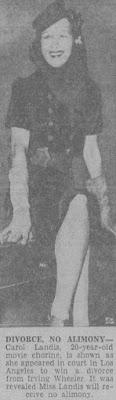 Carole Landis Irving Wheeler