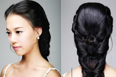 Model Rambut French braid