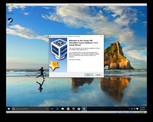 تنصيب الويندوز (7-8-10-xp) كنظام افتراضي