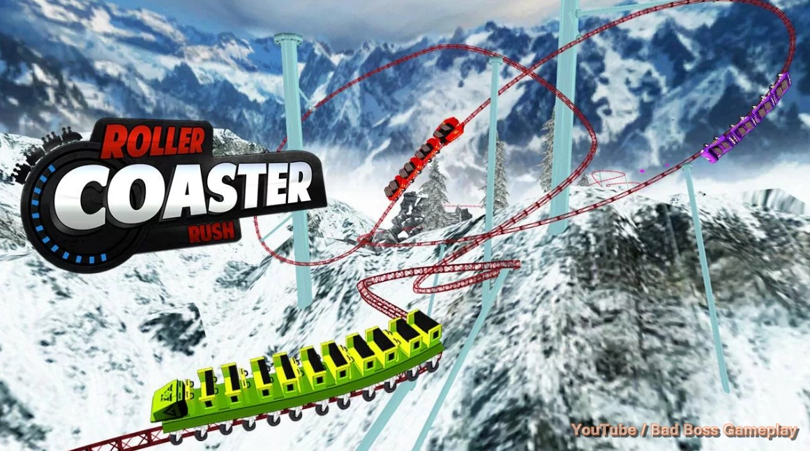 Rollercoaster rush underground 3d java game for mobile.