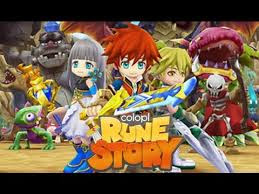 Colopl Rune Story MOD v1.0.62 Full feature