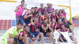 FÚTBOL PLAYA - El Levante es el campeón de la VII Liga Nacional de Clubes