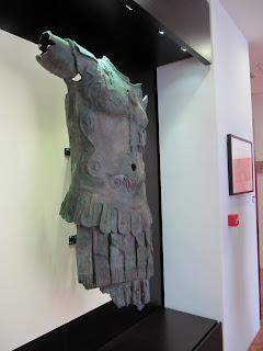 IMG_3195 Colocación de la copia del Thoracato en el Museo de Chiclana