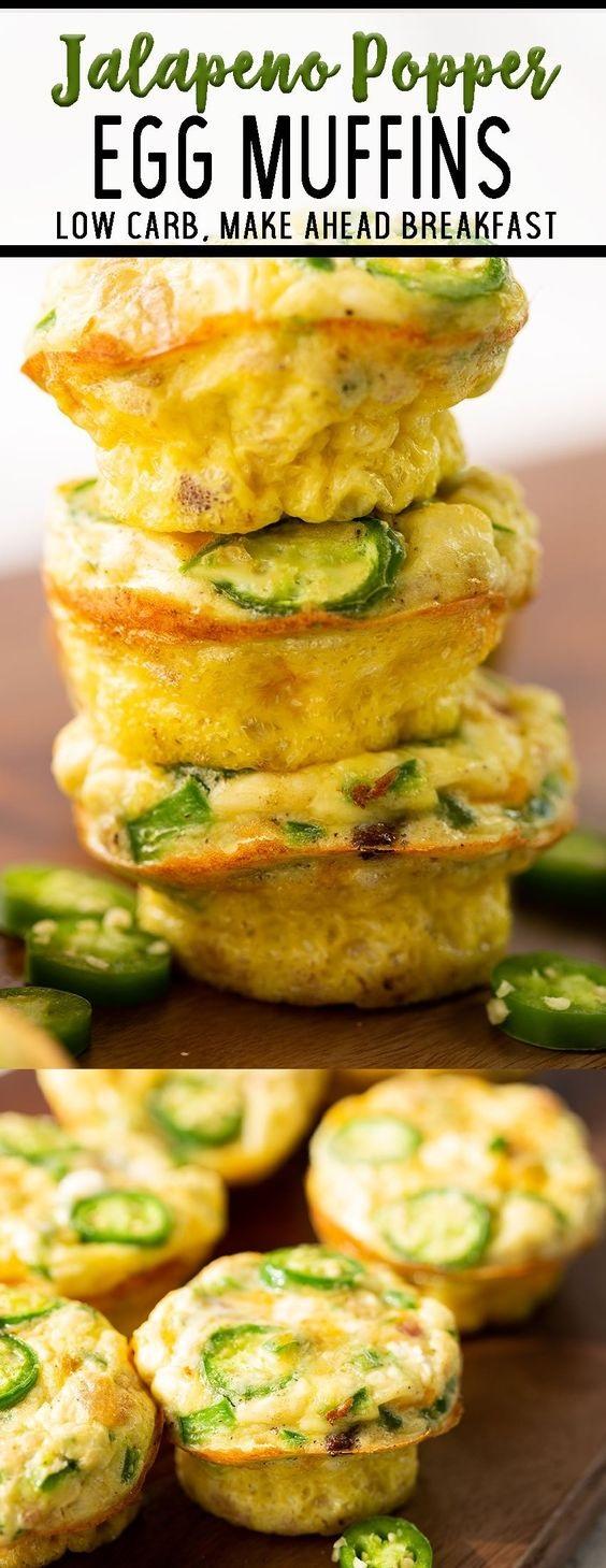 Jalapeño Popper Breakfast Egg Muffins