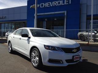 2017 Chevy Impala at Emich Chevrolet near Denver