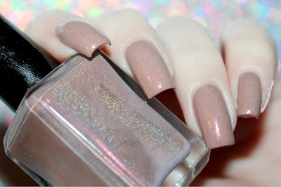 "Swatch of the nail polish ""December 2013"" from Enchanted Polish"
