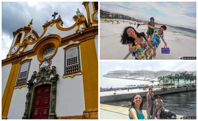 Viagens Tiradentes, Cabo Frio e Rio de Janeiro - D&D Mundo Afora completa 3 anos