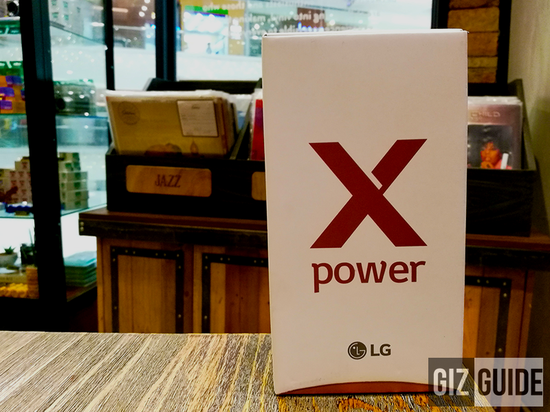 LG X Power Box