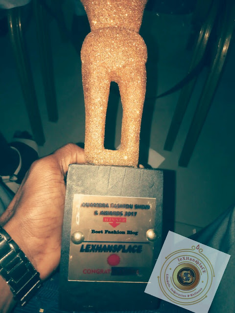 1# lexhansplace wins best fashion blog at the afsa2017
