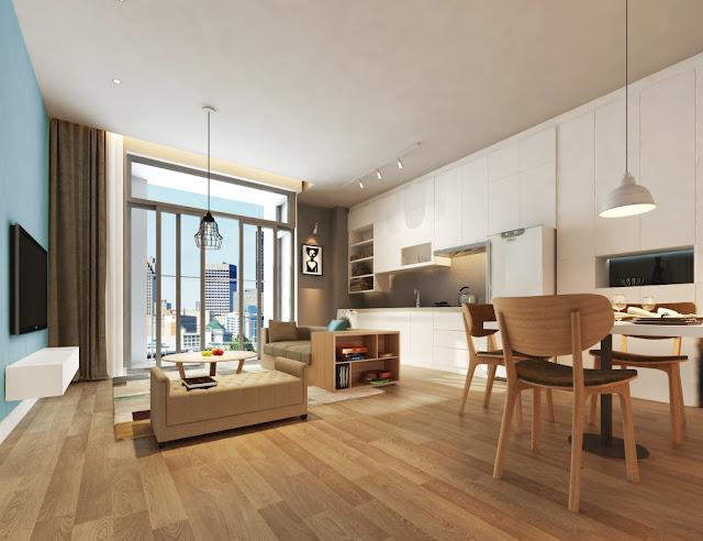 Thiết kế căn hộ tại The Golden Palm